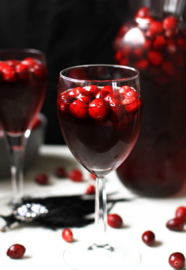 Sweet and Tart Black Swan Cranberry Sangria