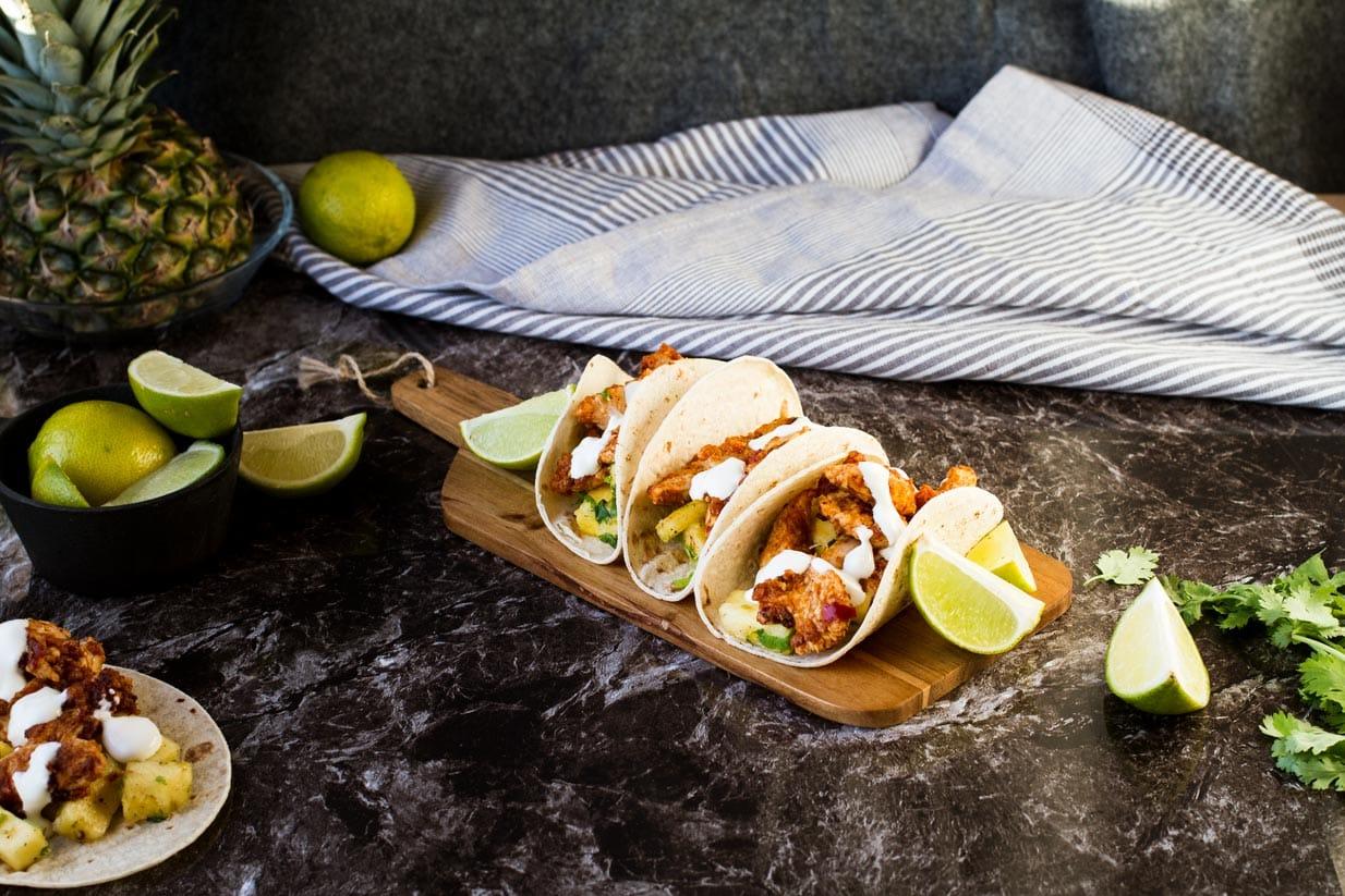 Easy Tacos al Pastor