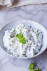 Refreshing Indian Raita Recipe (Yoghurt Cucumber Dip)