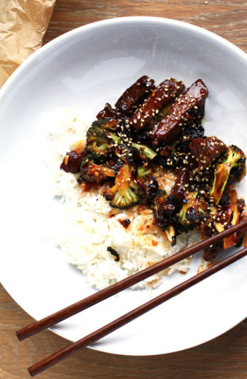 Sweet and Spicy Asian Beef and Broccoli