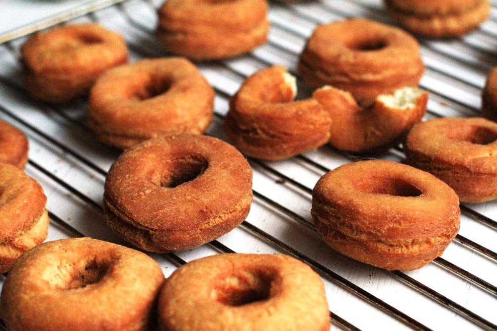 Crispy Fluffy Doughnuts