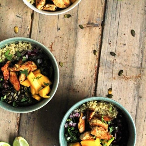 Mango Chipotle Quinoa Bowl
