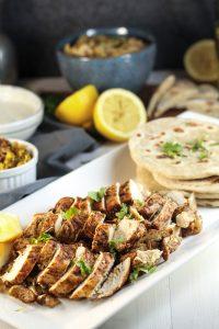 Chicken Shawarma + Homemade Shawarma Spice