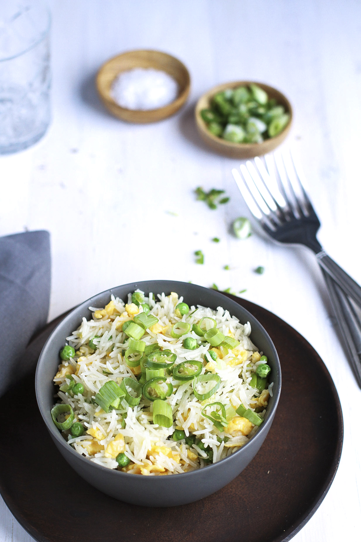 Chinese Sesame Fried Rice