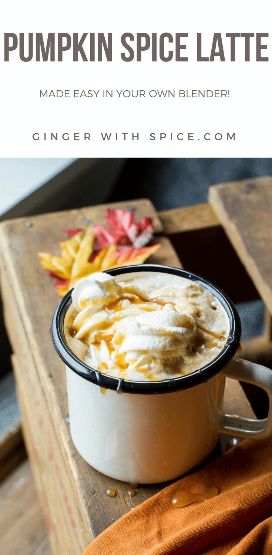 Easy Homemade Blender Pumpkin Spice Latte