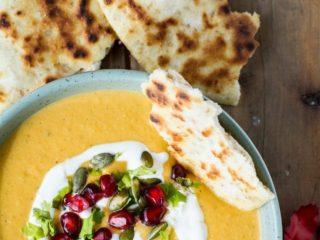 Pumpkin Sage Brown Butter Soup
