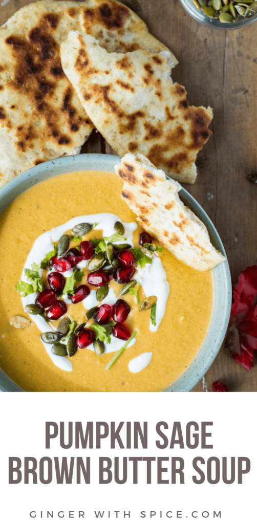 Pumpkin Sage Brown Butter Soup