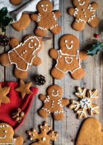 Norwegian Gingerbread Cookies (pepperkaker)