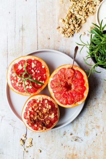 Baked Grapefruit: 3 Healthy Recipes
