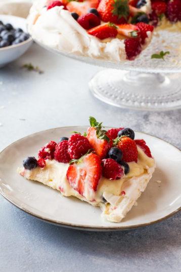 The Best Summer Berry Pavlova Recipe