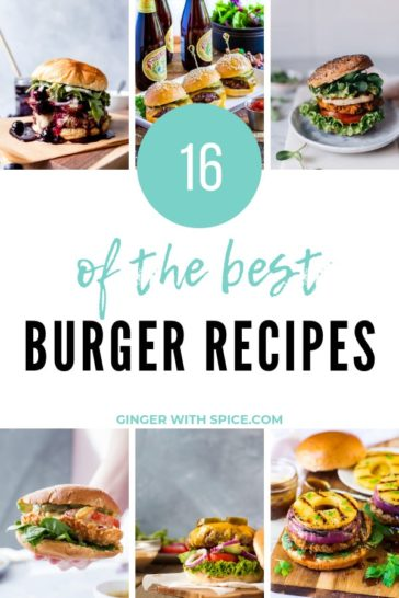 The Best Burger Recipes Pinterest Pin