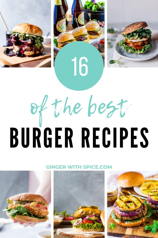 The Best Burger Recipes Pinterest Pin