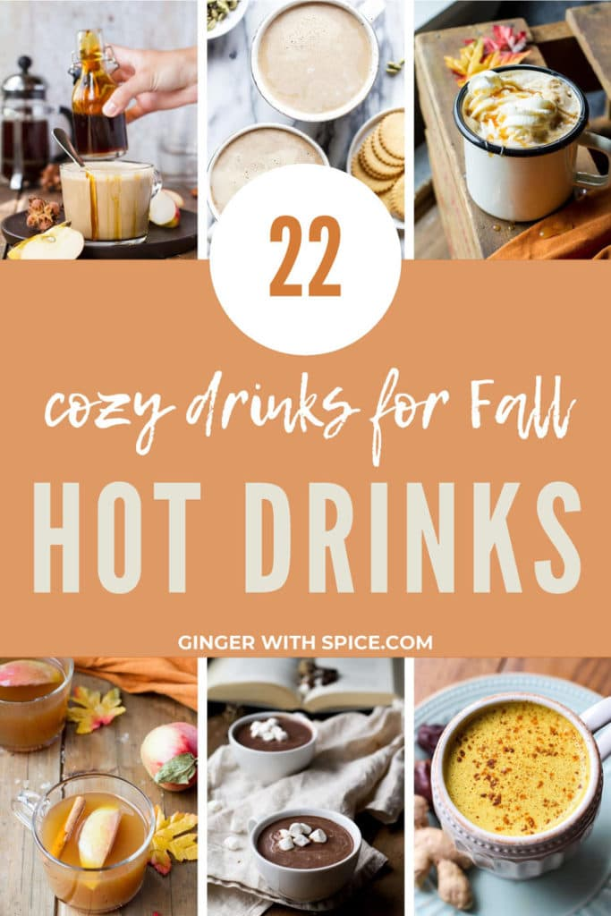 22 Cozy Hot Drinks for Fall Pinterest Pin 5.
