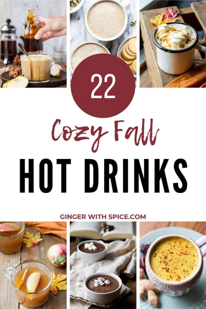 22 Cozy Fall Hot Drinks Pinterest 1.