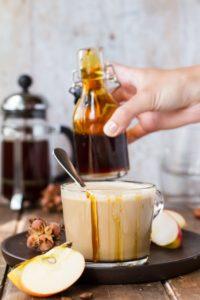 Apple Caramel Latte Macchiato Recipe
