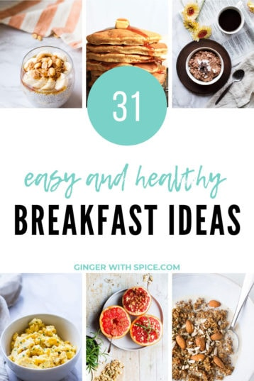 31 Healthy Breakfast Ideas to Nourish and Energize