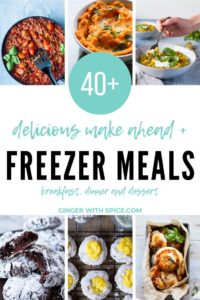 Delicious Freezer Meals and Make Ahead Recipes