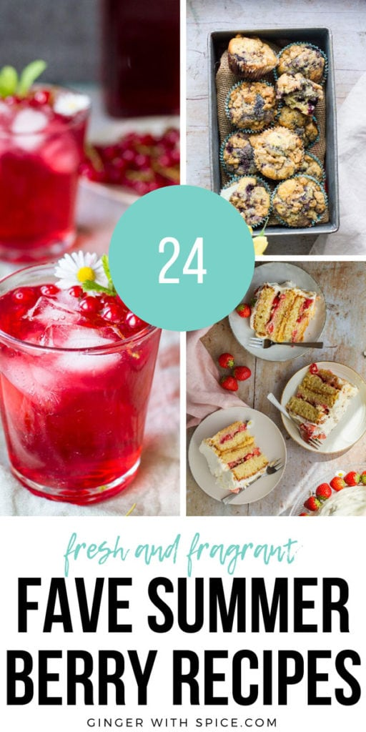 Pinterest pin with three images from post and text overlay.