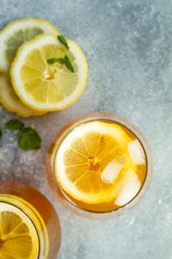 Ginger Lemon Iced Tea